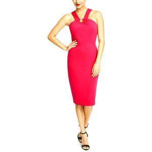 RACHEL ROY Prynn Halter Sheath Cocktail Dress-NWT
